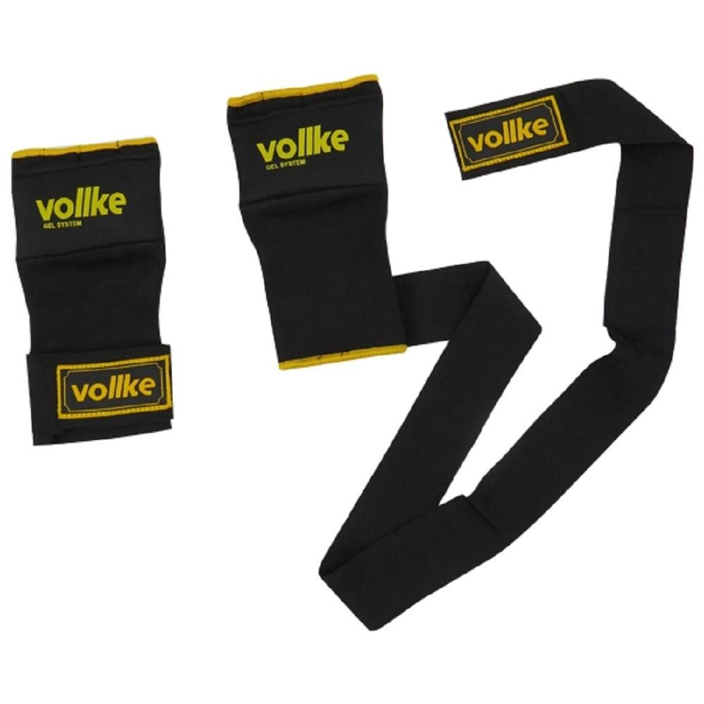 Bandagem Luva Gel System Vollke Preta