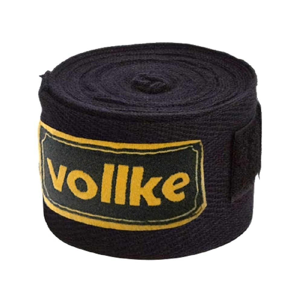 Bandagem Vollke Elástica 5 metros Preta