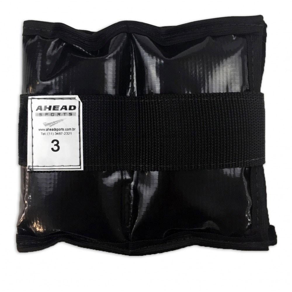 Caneleira de peso Ahead Sports AFF337 3kg Preta