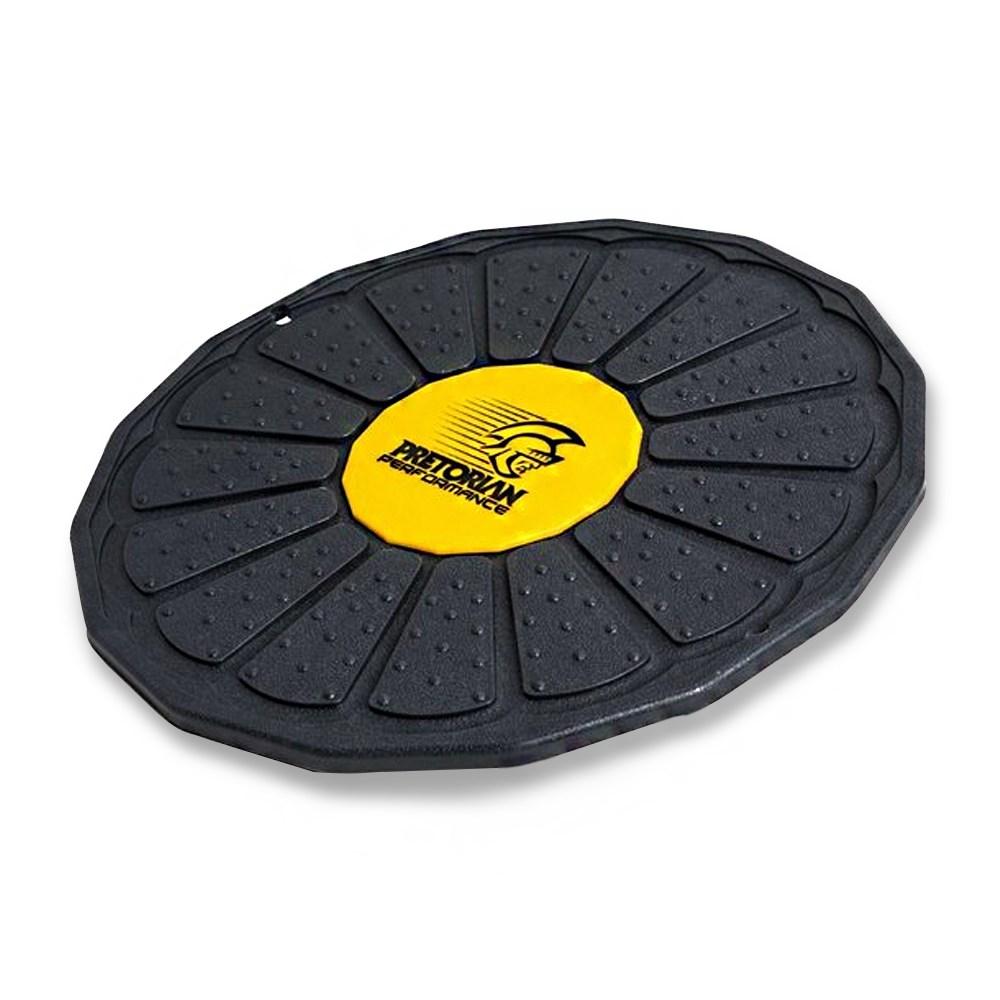 Disco de Equilíbrio Pretorian Performance Alto Ajuste - Preto e Amarelo