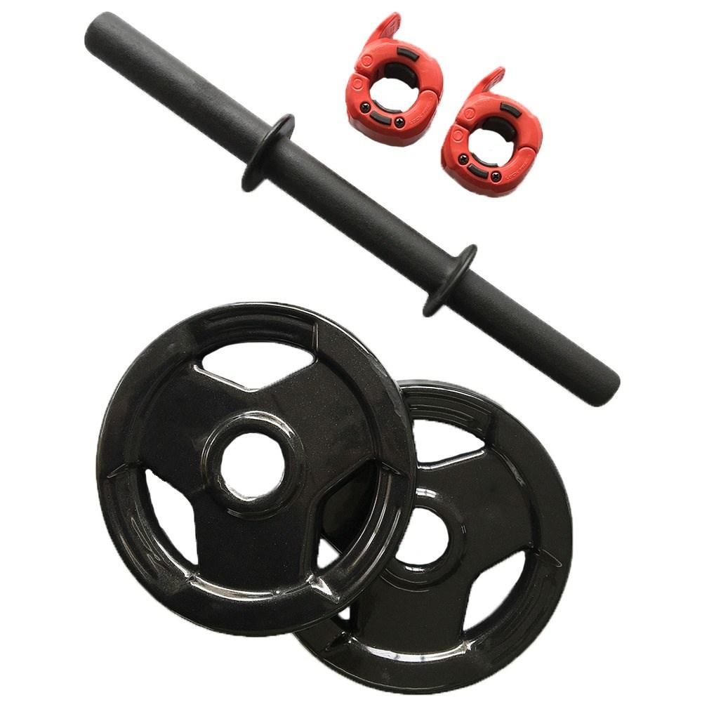 Dumbbell (Halter) Ajustável Com Pegada Texturizada, Anilhas Sport e trava Lock Jaw 18kg