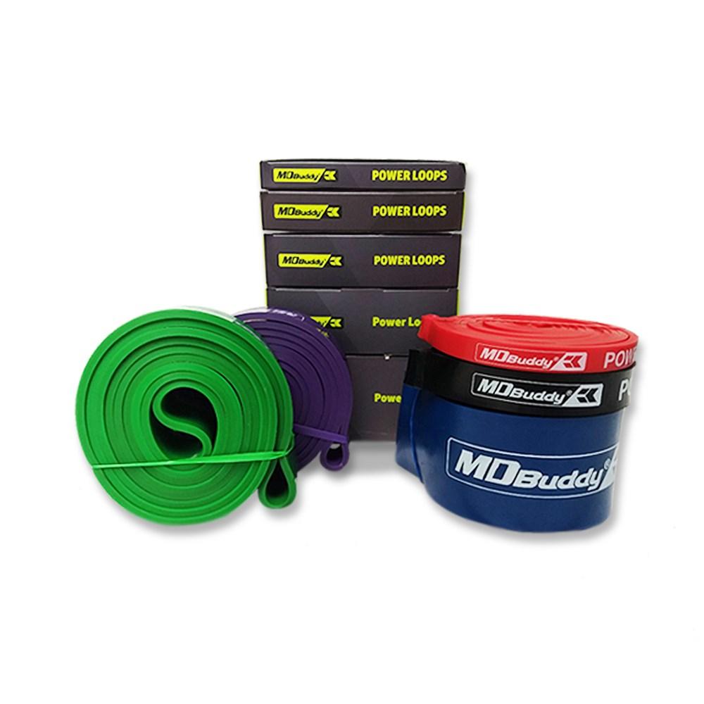 Kit 5 Super Band MDBuddy Colorido
