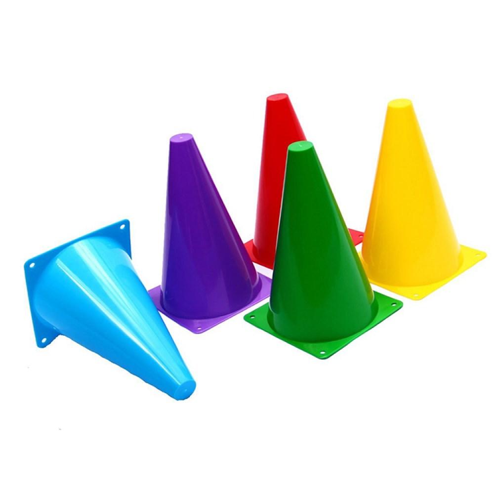 kit C/ 5 Cones de Agilidade Ahead Sports Coloridos