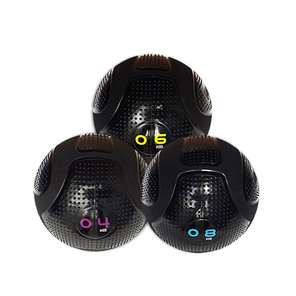 Kit com 3 Slam Ball MDBuddy Preto