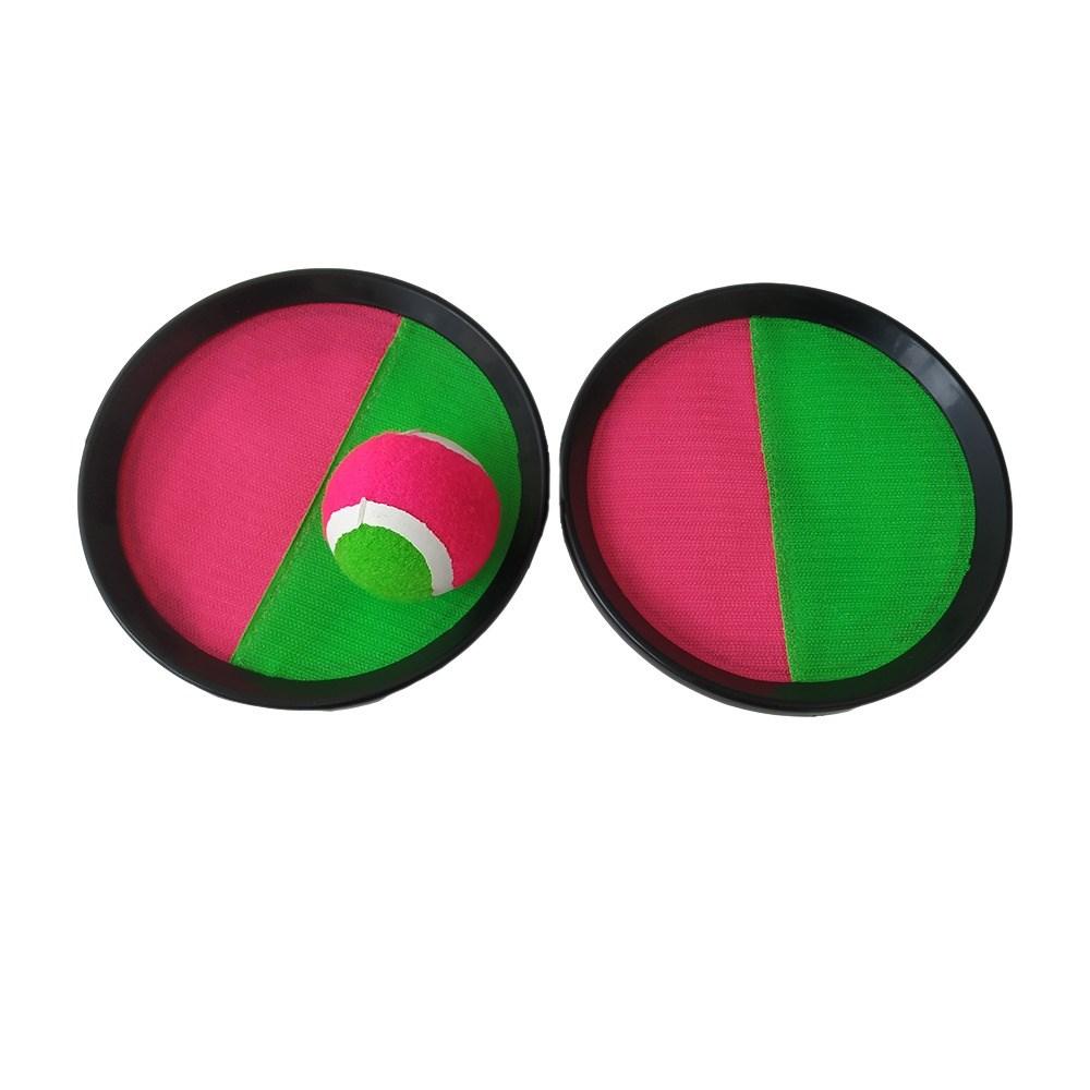Kit Frescobol 2 Raquetes 1 Bola Ahead Sports Colorido