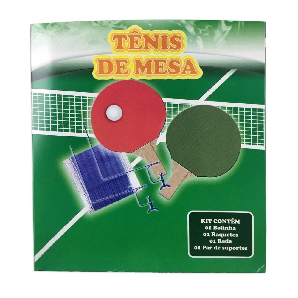 Kit Tênis de Mesa MDF Pangue Ast218