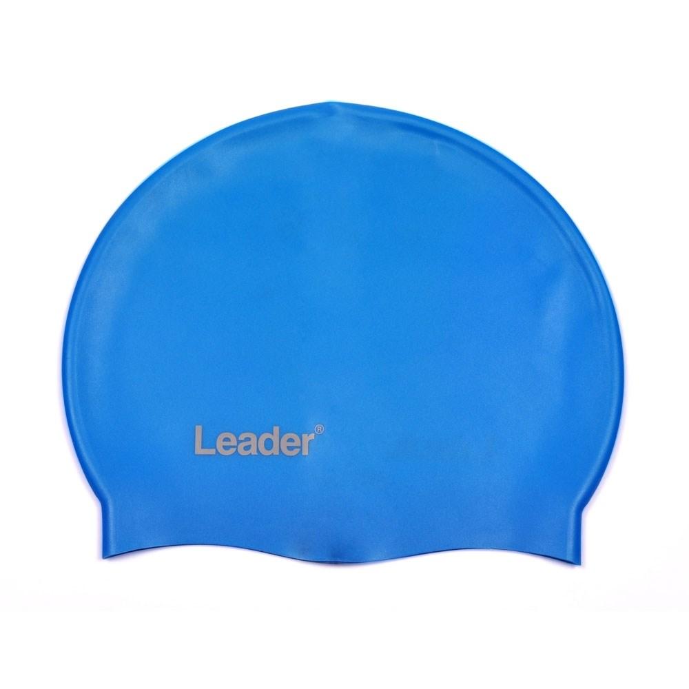 Touca para Natação de Silicone Leader LD20